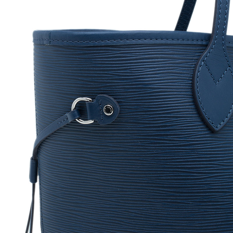 Louis Vuitton Blue Epi Leather Neverfull MM