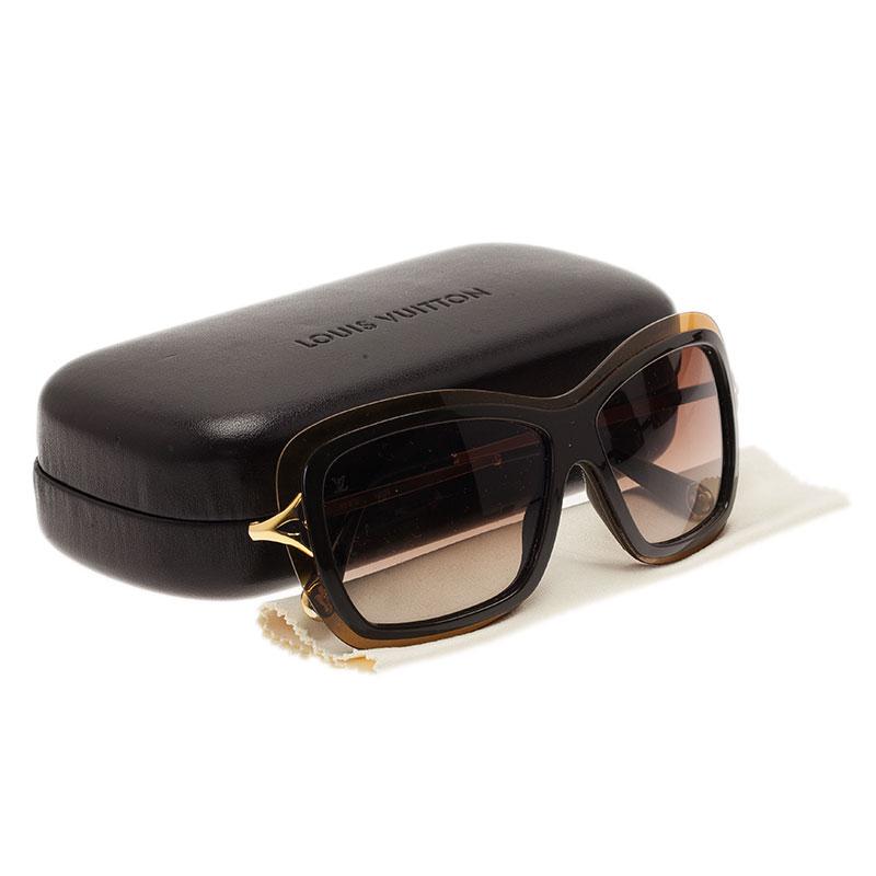 Louis Vuitton Brown Poppy Square Sunglasses