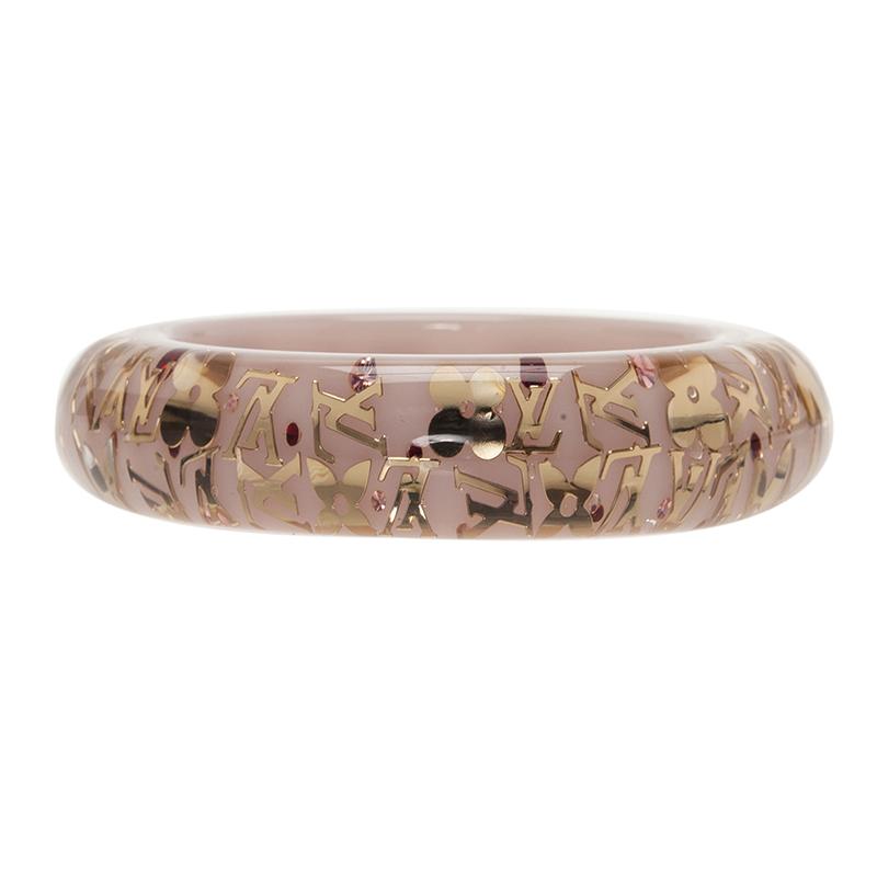 Louis Vuitton Inclusion White Bangle Bracelet