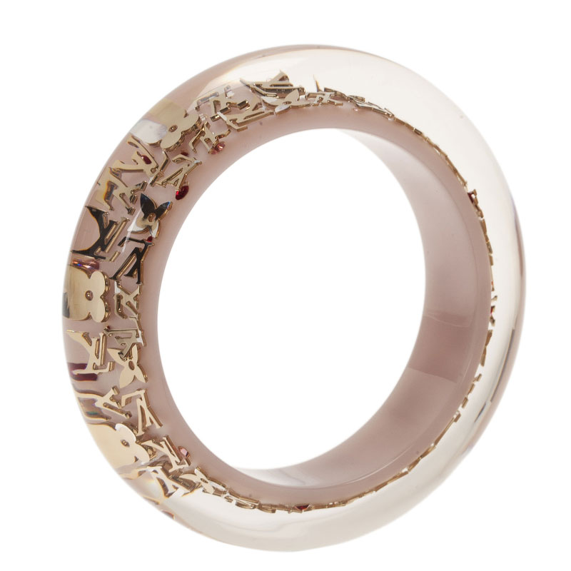 Louis Vuitton Inclusion White Bangle Bracelet