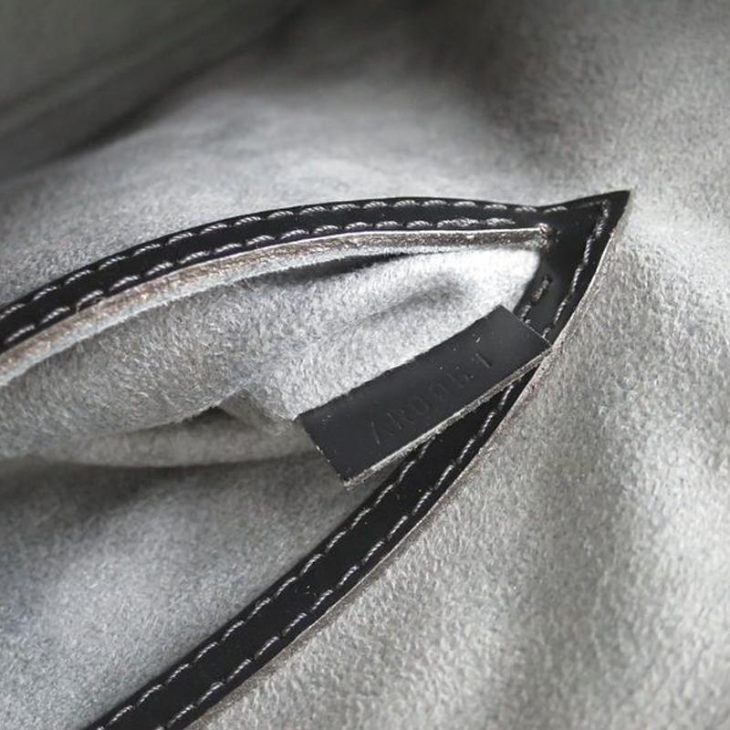 Louis Vuitton Noir Epi Leather Alma PM