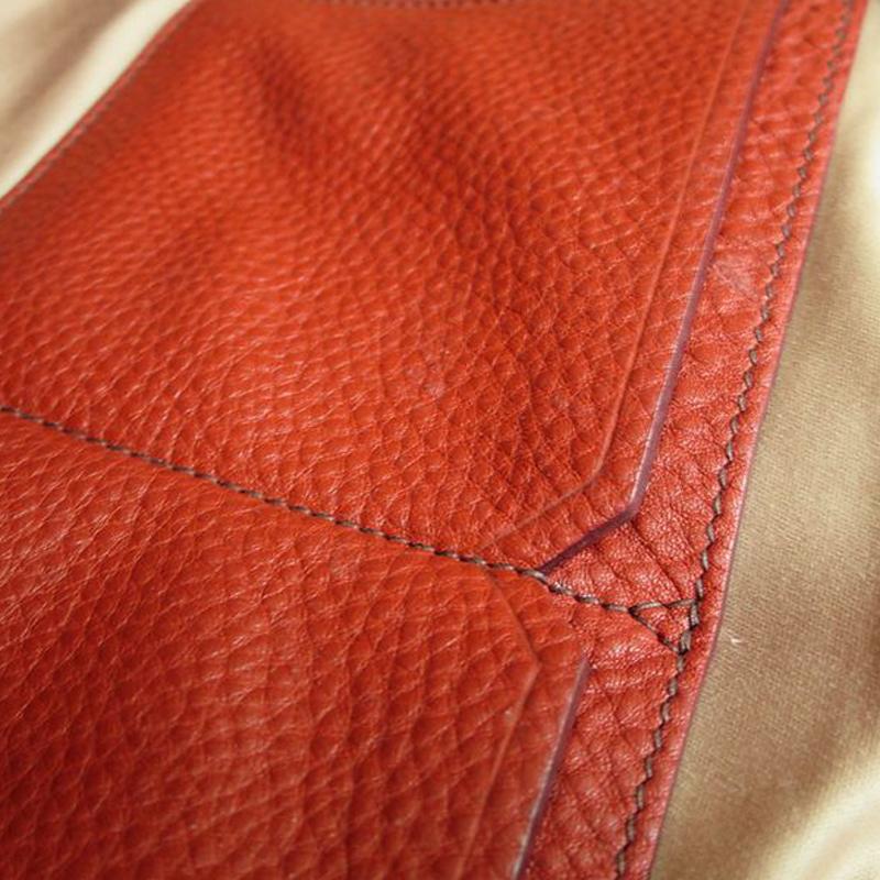 Miu Miu Red Leather Zip Tote