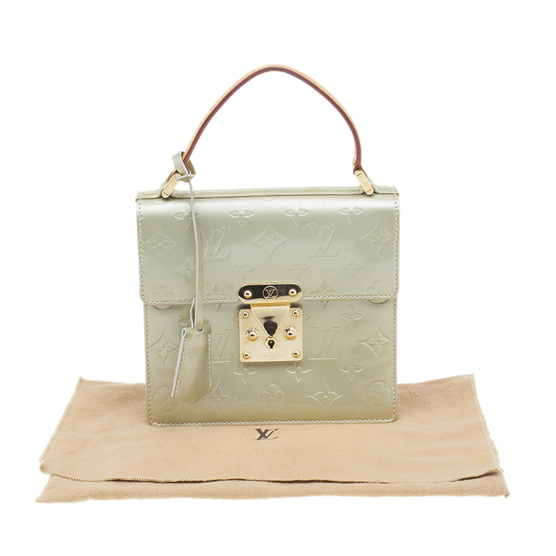 Louis Vuitton Bronze Vernis Spring Street Bag