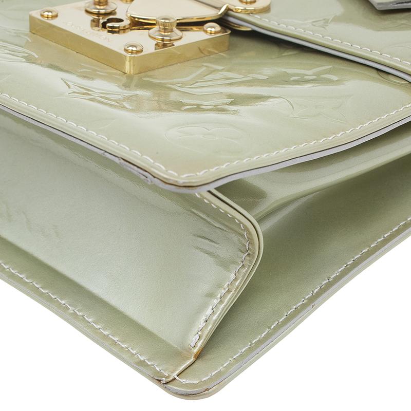 Louis Vuitton Bronze Vernis Spring Street Bag