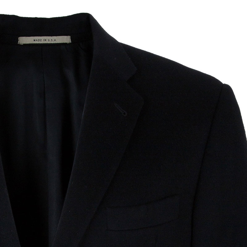 Burberry Men's Black Wool Blazer L