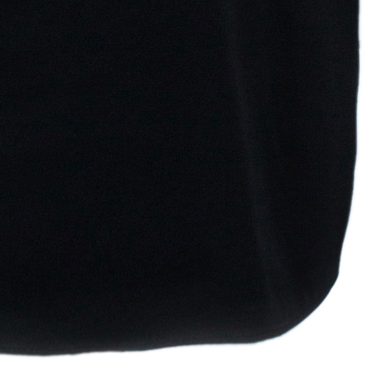 3.1 Phillip Lim Black Contrast Floral Lace Oversized Top M