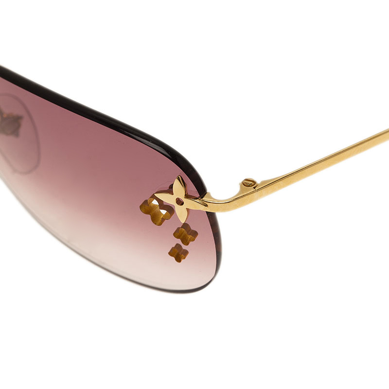 Louis Vuitton Purple Desmayo Sunglasses