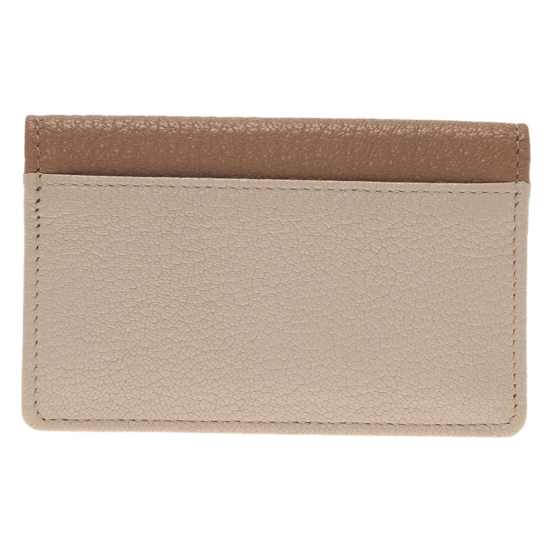 Miu Miu Two Tone Madras Leather Bow Detail Wallet