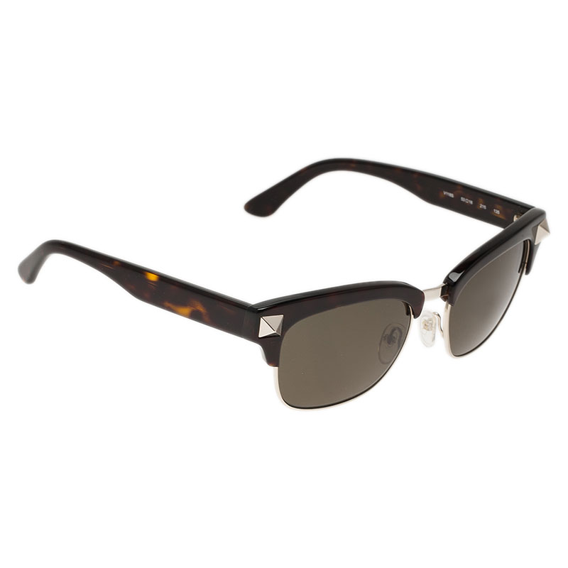 Valentino Black V118S Rockstud Sunglasses