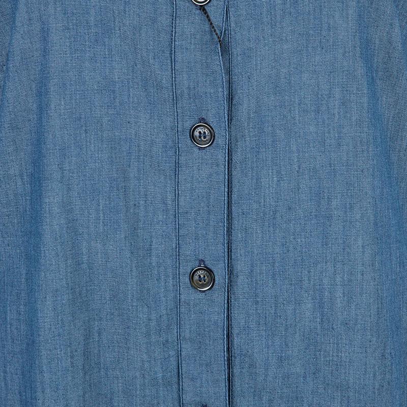 Weekend Max Mara Blue Shift Dress M