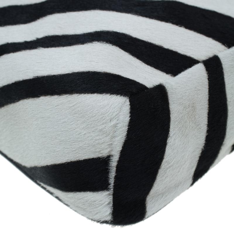 Jimmy Choo Animal Print Pony Hair Shoulder Bag
