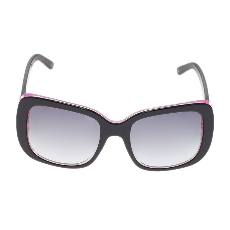 Dolce and Gabbana Purple and Black Square Sunglasses