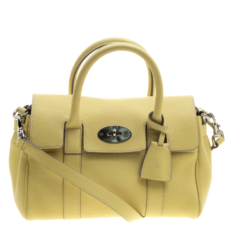 5b74c43a9f canada mulberry yellow grain leather small bayswater satchel. nextprev.  prevnext 230ae 01882