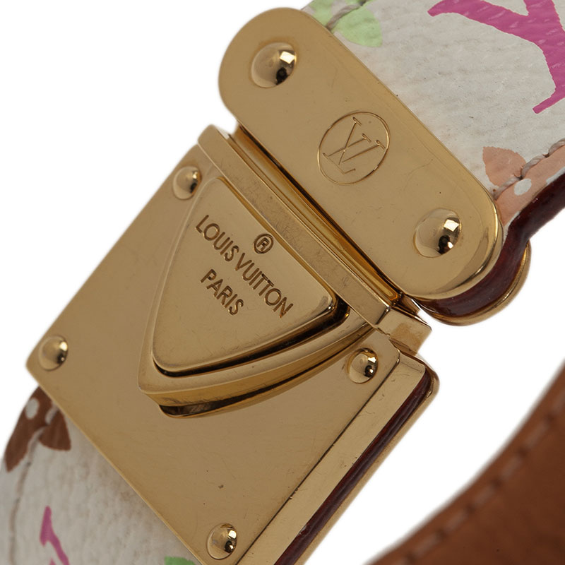 Louis Vuitton Koala Monogram Multi Color Canvas Bracelet