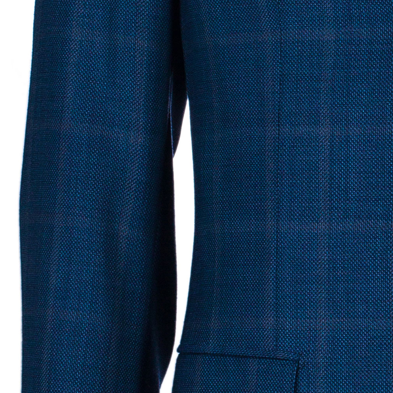 Brioni Men's Blue Wool Blazer M