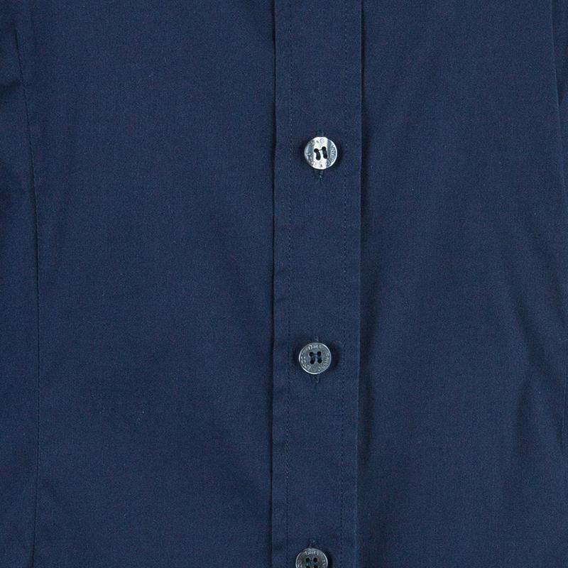 D&G Navy Cotton Button Down Shirt M