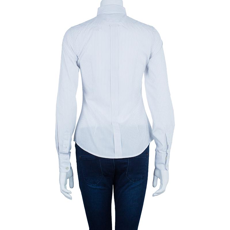 D&G Cotton Striped Button Down Shirt S