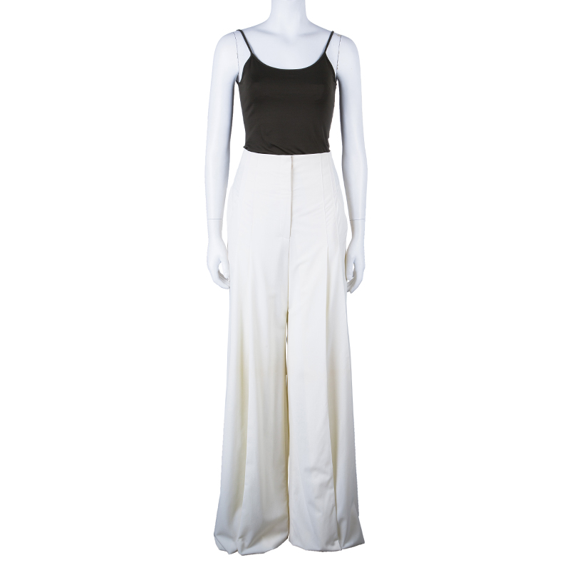 Malandrino White Culotte Pants M