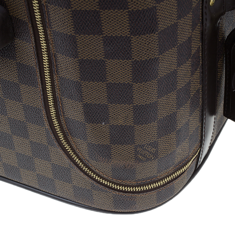 Louis Vuitton Damier Ebene Coated Canvas Eole Rolling Luggage 50 cm