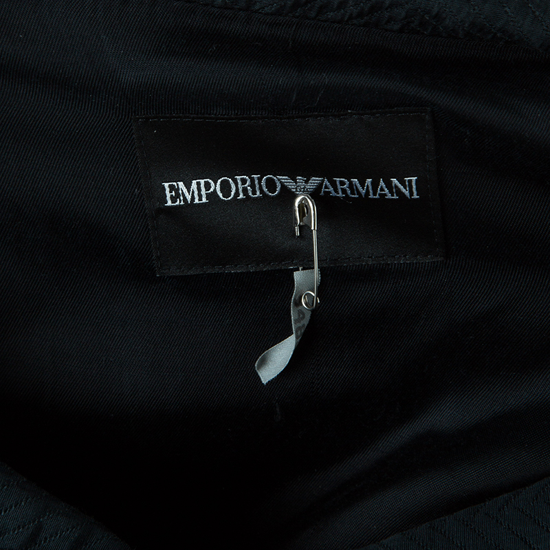 Emporio Armani Black Short Sleeve Jacket S