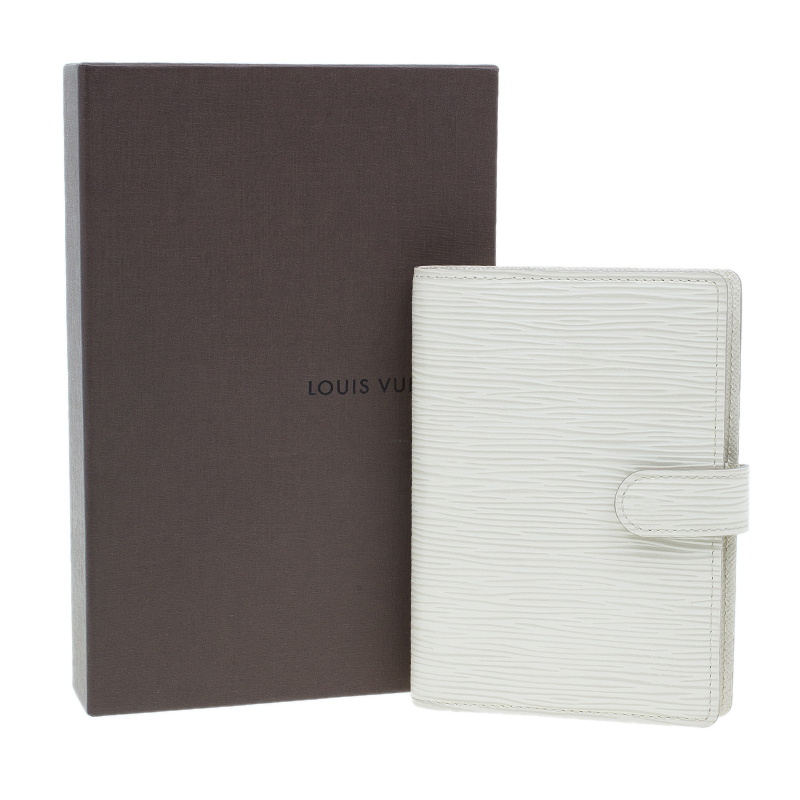 Louis Vuitton Small Beige Epi Leather Agenda Cover