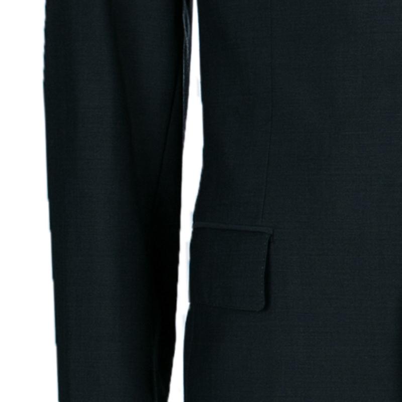 Boss By Hugo Boss Men's Dark Gray Suit M