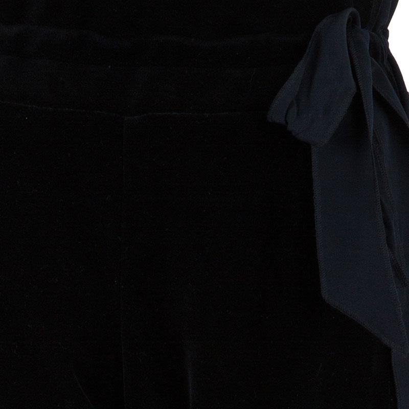 Sonia Rykiel Black Cuffed Trousers M