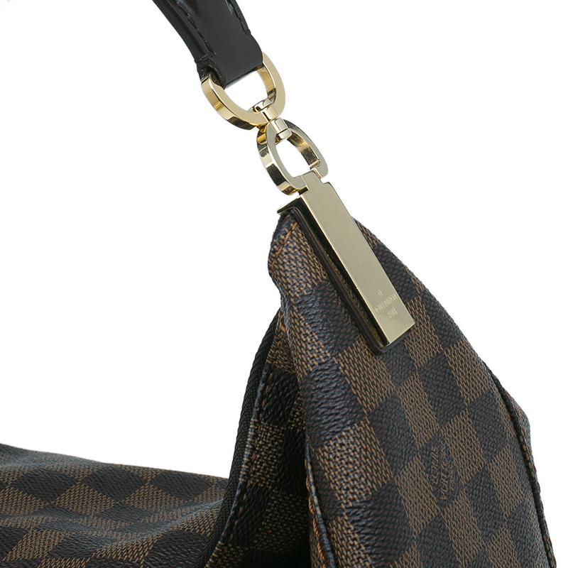 Louis Vuitton Damier Ebene Canvas Portobello GM Bag