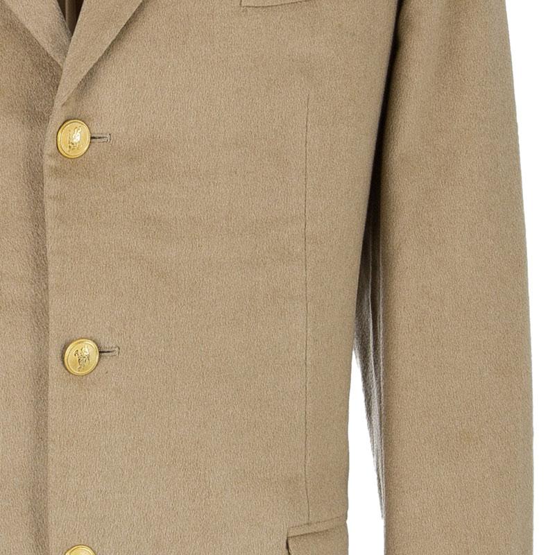 Burberry Men's Beige Wool Blazer EU 54