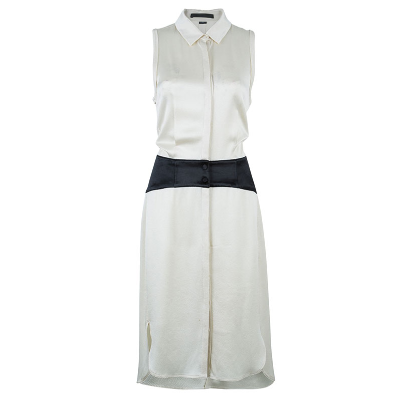 Alexander Wang Off-white Shirt Dress M