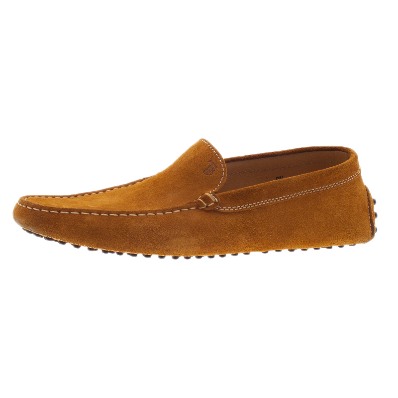 Tod's Light Brown Suede Loafers Size 42.5