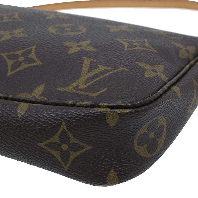 Louis Vuitton Monogram Canvas Pochette Accessoires Pouch Accessories