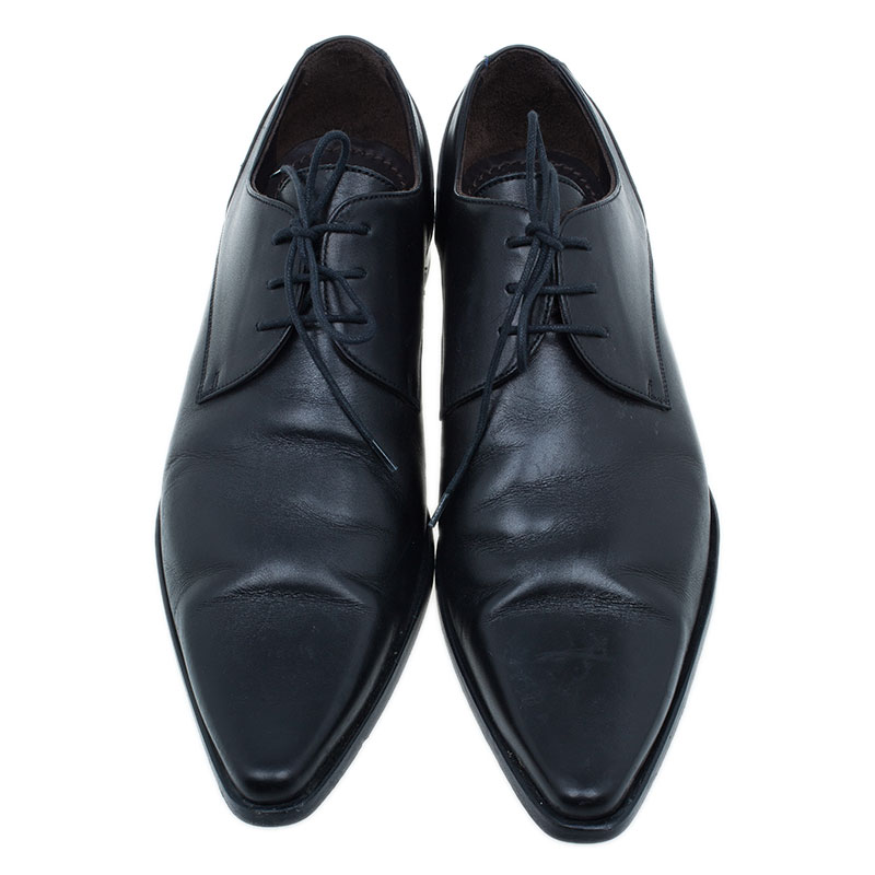Dolce and Gabbana Black Oxfords Size 41.5