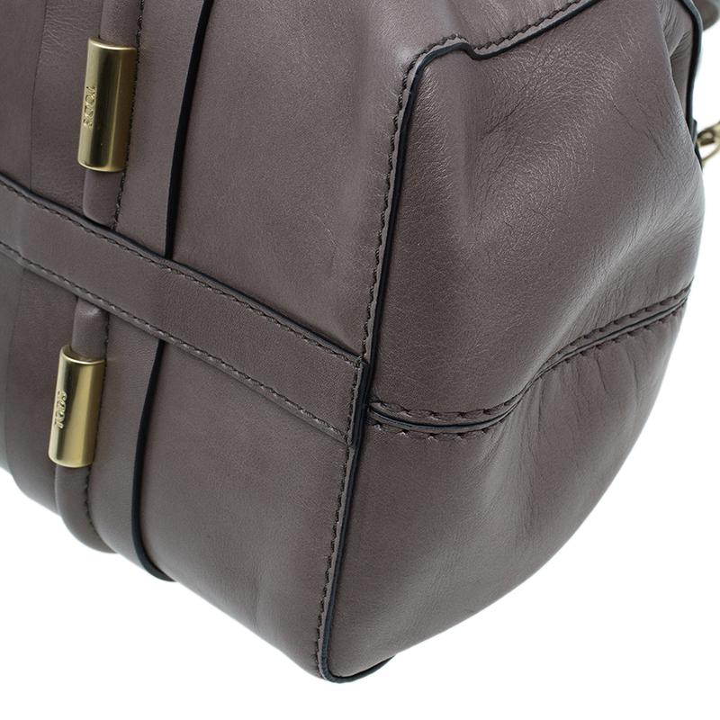 Tod's Brown Leather Girelli Tote