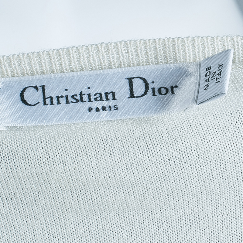 Dior Yellow Ombre Sweater M