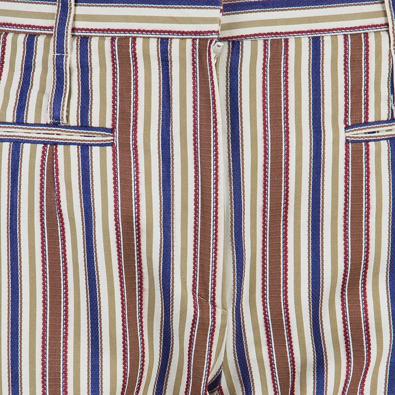 Kenzo Striped Casual Pants M