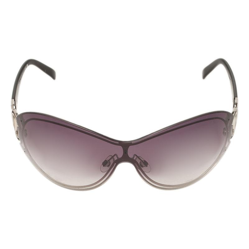 Chanel Black 4144 CC Shield Sunglasses