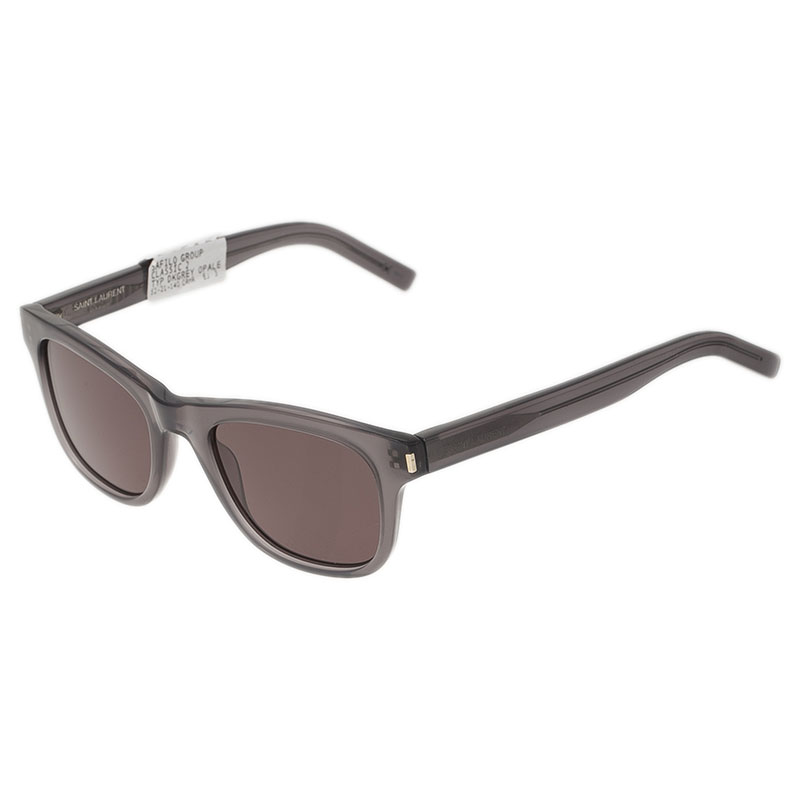 Saint Laurent Paris Grey TYPE J Sunglasses