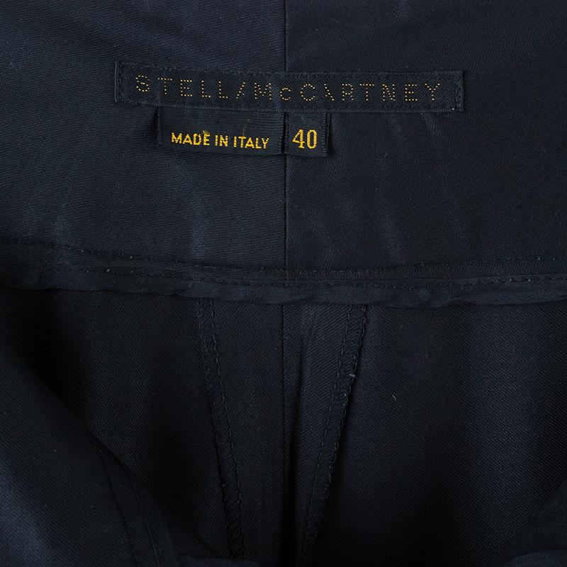 Stella McCartney Black Formal Trousers S