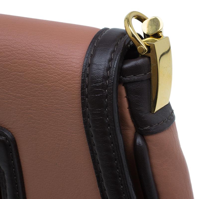 Louis Vuitton Vieux Rose Leather Trapezio Art Deco Shoulder Bag