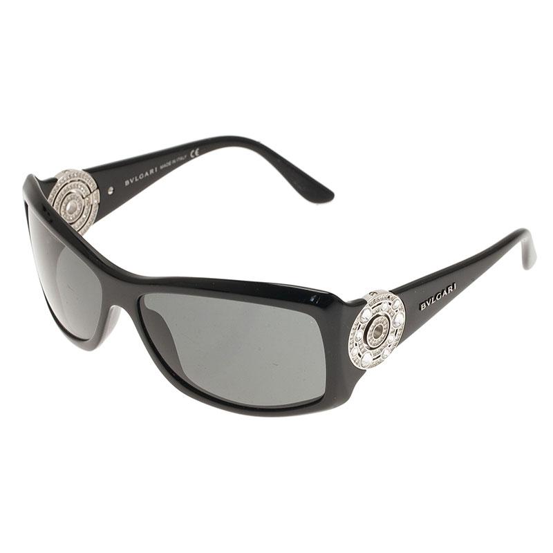 Bvlgari Black 800B Embellished Sunglasses