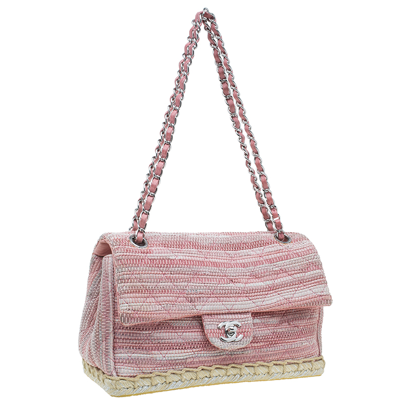 0b209a9dd5d0 Chanel Pink Tweed Flap Bag | Stanford Center for Opportunity Policy ...