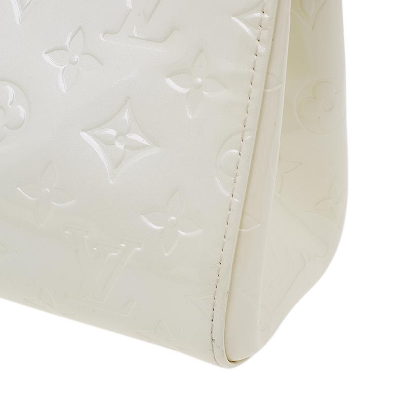 Louis Vuitton Perle Monogram Vernis Roxbury Drive Bag