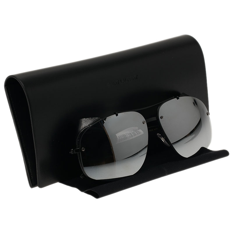 Saint Laurent Paris Black 2338 Aviators