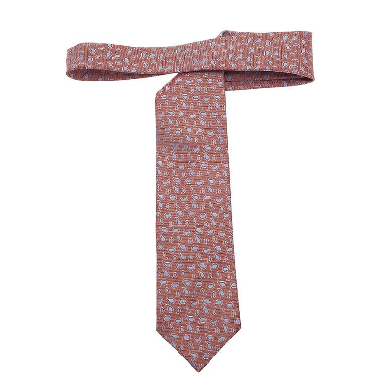 Ermenegildo Zegna Red Tie