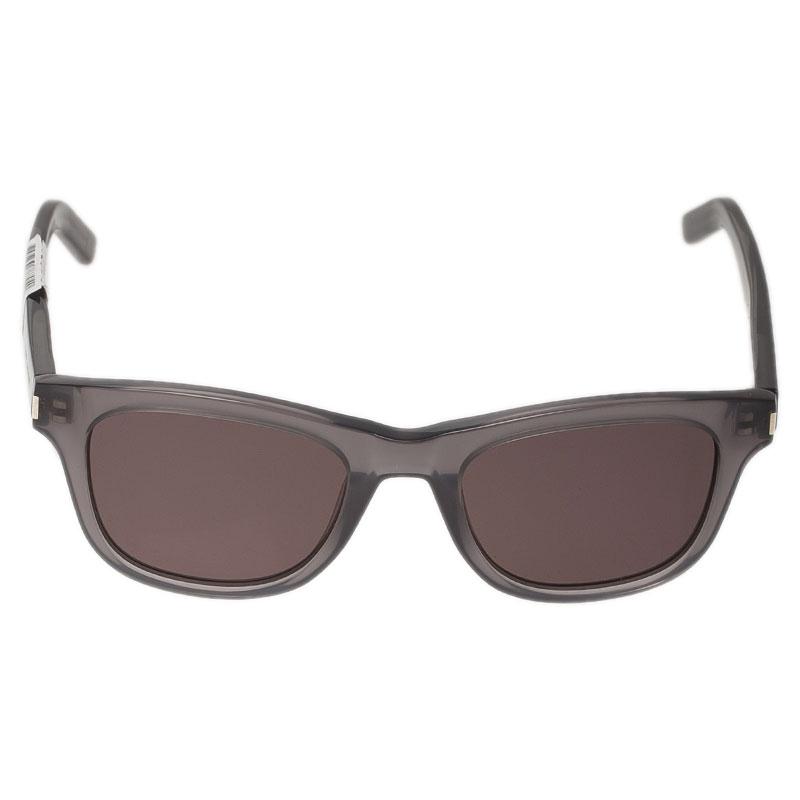 Saint Laurent Paris Grey TYPE J Sunglasses