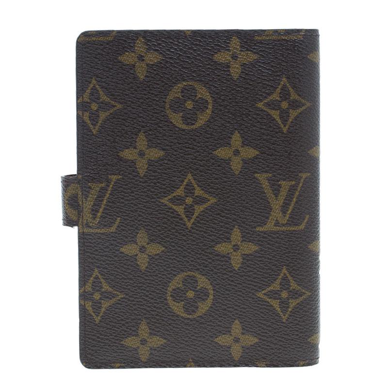 Louis Vuitton Monogram Canvas Small Ring Agenda