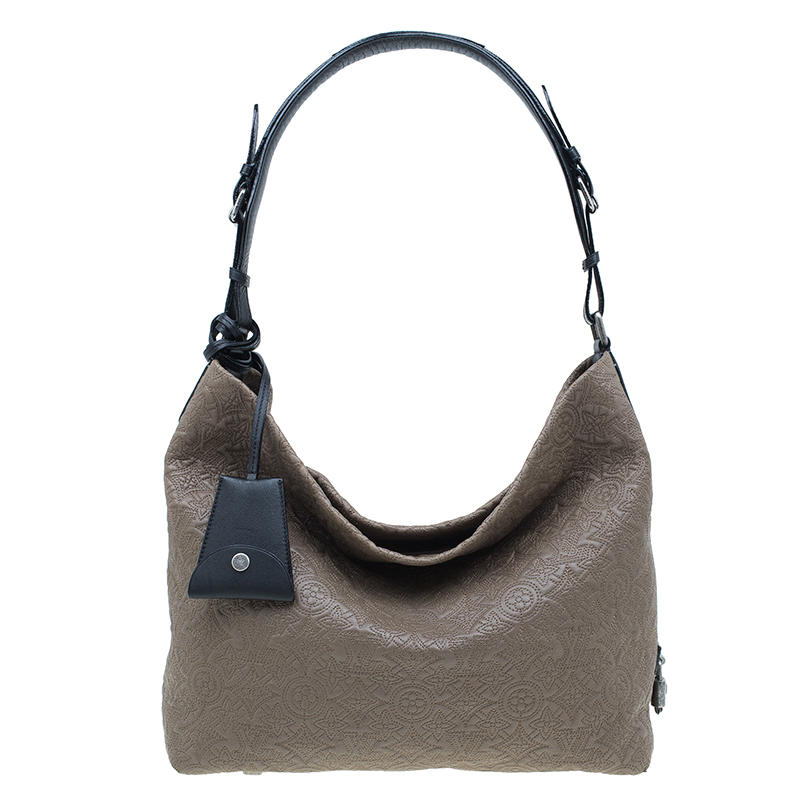 Louis Vuitton Fumee Monogram Antheia Leather Hobo PM Bag