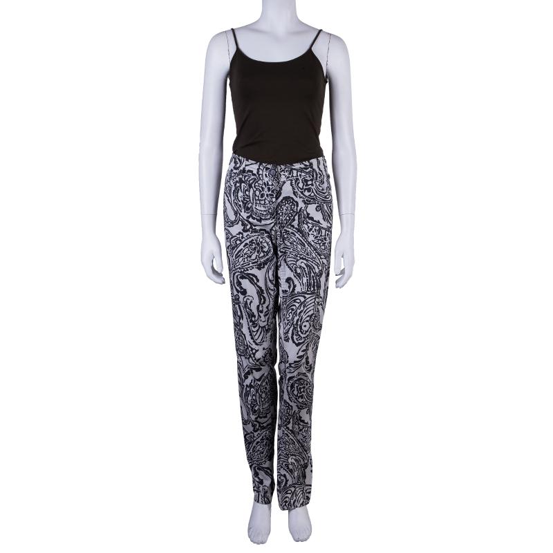 Etro Printed Denim Pants M