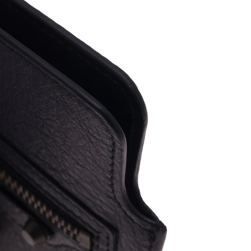 Balenciaga Black Leather iPhone 5/5S Case